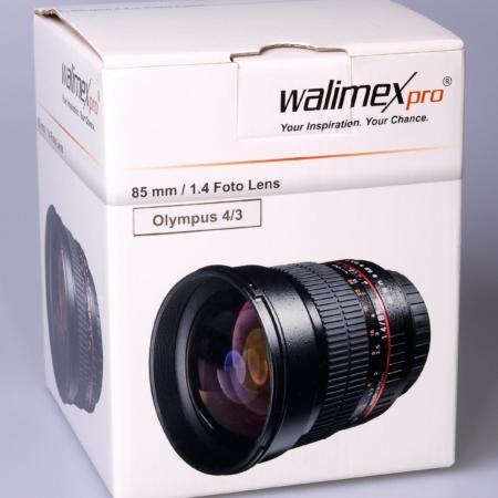 Walimex pro 85mm camera in box